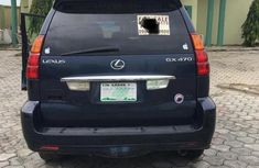 Neat Nigerian used Lexus GX 2006 Blue