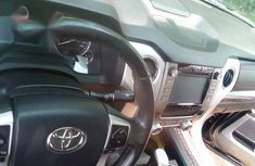 Foreign Used Toyota Tundra 2015 Blue