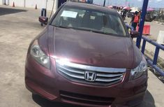 Neat Foreign used Honda Accord 2009 Red