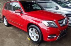 Neatly used red 2013 Mercedes-Benz GLK automatic in Lagos