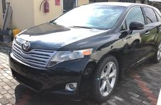 Best priced used black 2010 Toyota Venza suv / crossover automatic