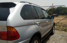 Clean Nigerian used BMW X5 2002 Model Silver