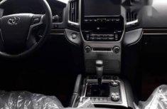 Clean Tokunbo Toyota Land Cruiser 2017 Black
