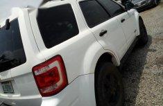 Nigerian Used Ford Escape 2008 White
