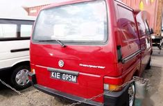 Clean Tokunbo Volkswagen Transporter 1998 Model Red