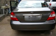 Clean Nigerian used Toyota Camry 2004 Black