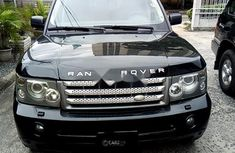 Need to sell high quality black 2007 Land Rover Range Rover Sport automatic in Lagos