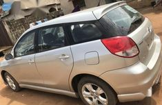 Very Clean Foreign used Toyota Matrix 2004 Silver