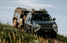 Lexus GXOR Concept Luxury SUV is right for off-roading adventures