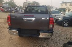 Foreign Used Toyota Hilux 2017 Black