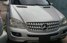 Very Clean Tokunbo Used Mercedes-Benz M Class 2008 Silver