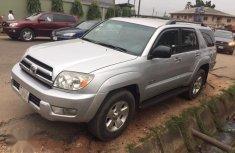 Nigerian Used Toyota 4-Runner SR5 V6 4x4 2005 Silver