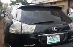 Neat Nigerian used Lexus RX 2007 350 Black