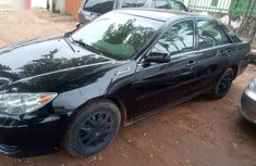 Foreign Used Toyota Camry 2006 Black