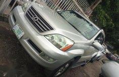 Nigerian Used Lexus GX 470 Sport Utility 2005 Silver