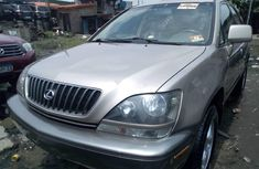 Gold 2000 Lexus RX suv / crossover for sale at price ₦2,100,000 in Lagos