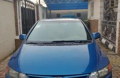 Neat Nigerian used Honda Civic 2008 Coupe 1.8 EX Automatic Blue