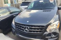 Clean Tokunbo Used Mercedes-Benz M Class 2012 Gray