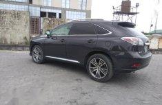 Neat Nigerian used Lexus RX 350 2010 Gray