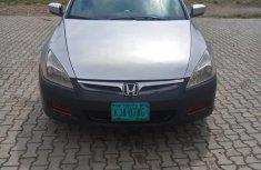 Neat Nigerian Used Honda Accord 2.4 Type S Automatic 2006 Gray