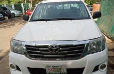 Clean Tokunbo Used Toyota Hilux 2.0 VVT-i SRX 2012 White