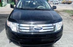 Clean Tokunbo Used Ford Edge 2008 Black