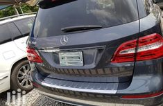Super clean Tokunbo Mercedes-Benz M Class 2015 Model Black