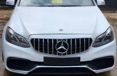 Super Clean Nigerian used Mercedes-Benz E350 2015 White