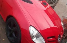 Sell red 2010 Mercedes-Benz CLK automatic at cheap price