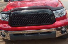 Clean Tokunbo  Used Toyota Tundra 2008 Red
