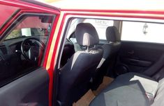 Clean Tokunbo Used Kia Soul Automatic 2010 Red