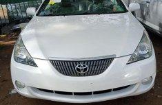 Clean Tokunbo Toyota Solara 2004 White