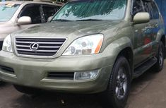 Clean and neat used 2008 Lexus GX suv / crossover in Lagos at cheap price