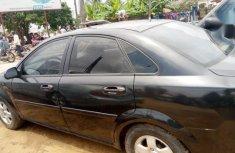Neat Nigerian used Chevrolet Optra 2002 Black