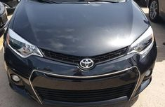 Clean Tokunbo Used Toyota Corolla 2015 Black