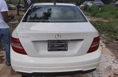 Clean Tokunbo Used Mercedes-Benz C250 2013 White Colour