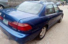 Neat Nigerian used  Honda Accord 1998 2.0 VTS Blue