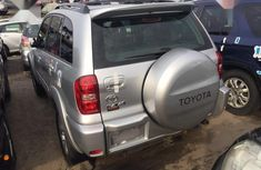 Foreign Used Toyota RAV4 Automatic 2003 Silver