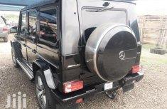 Nigerian Used Mercedes-Benz G-Class 2016 Black