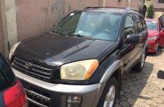 Nigerian Used Toyota RAV4 2.0 4x4 Executive 2004 Black