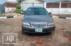 Nigerian Used Honda Accord 2002 Brown