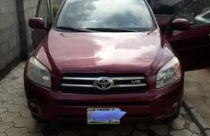 Clean Nigerian Used Toyota RAV4 2007 Limited V6 Red