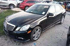 Need to sell cheap used black 2010 Mercedes-Benz E550 sedan automatic