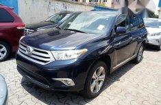 Clean Tokunbo Used Toyota Highlander 2011 Limited Blue