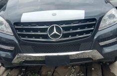 Clean Mercedes-Benz ML350 2012 Gray Colour