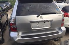 Foreign Used Acura MDX 2005 Silver