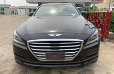 Sharp black 2016 Hyundai Genesis sedan automatic for sale