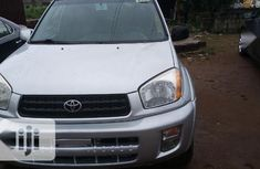 Clean Foreign Used Toyota RAV4 2002 Automatic Silver
