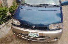 Nigerian Used Nissan Serena 2001 Blue