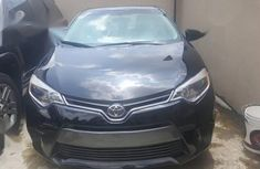 Clean Tokunbo Used Toyota Corolla 2016 Black
